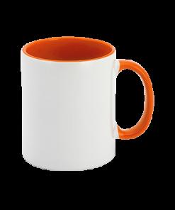 Oranje mok bedrukken