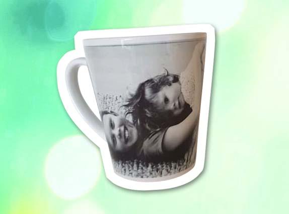 Latte mok met foto